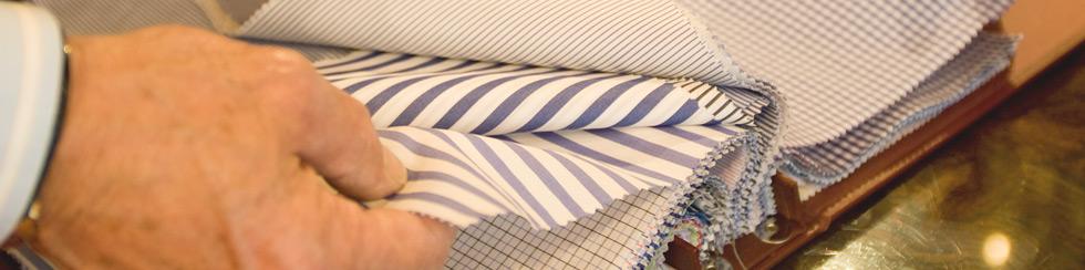 Collezione di tessuti per camicie su misura