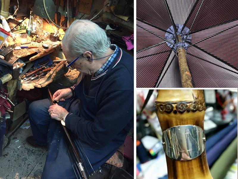 particolari ombrelli talariico