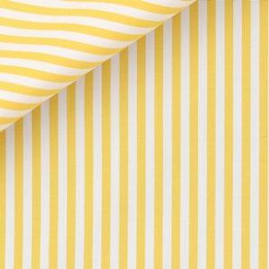 Camicia uomo gialla a righe