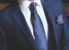 giacca blu uomo