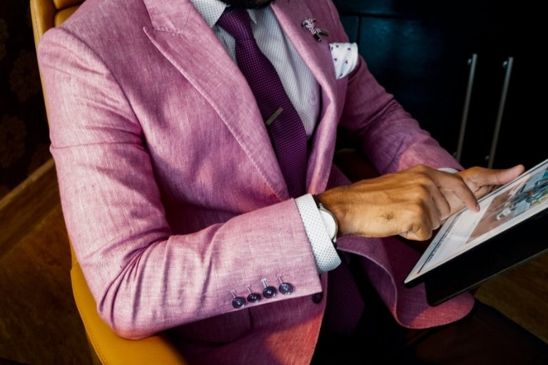 giacca colorata