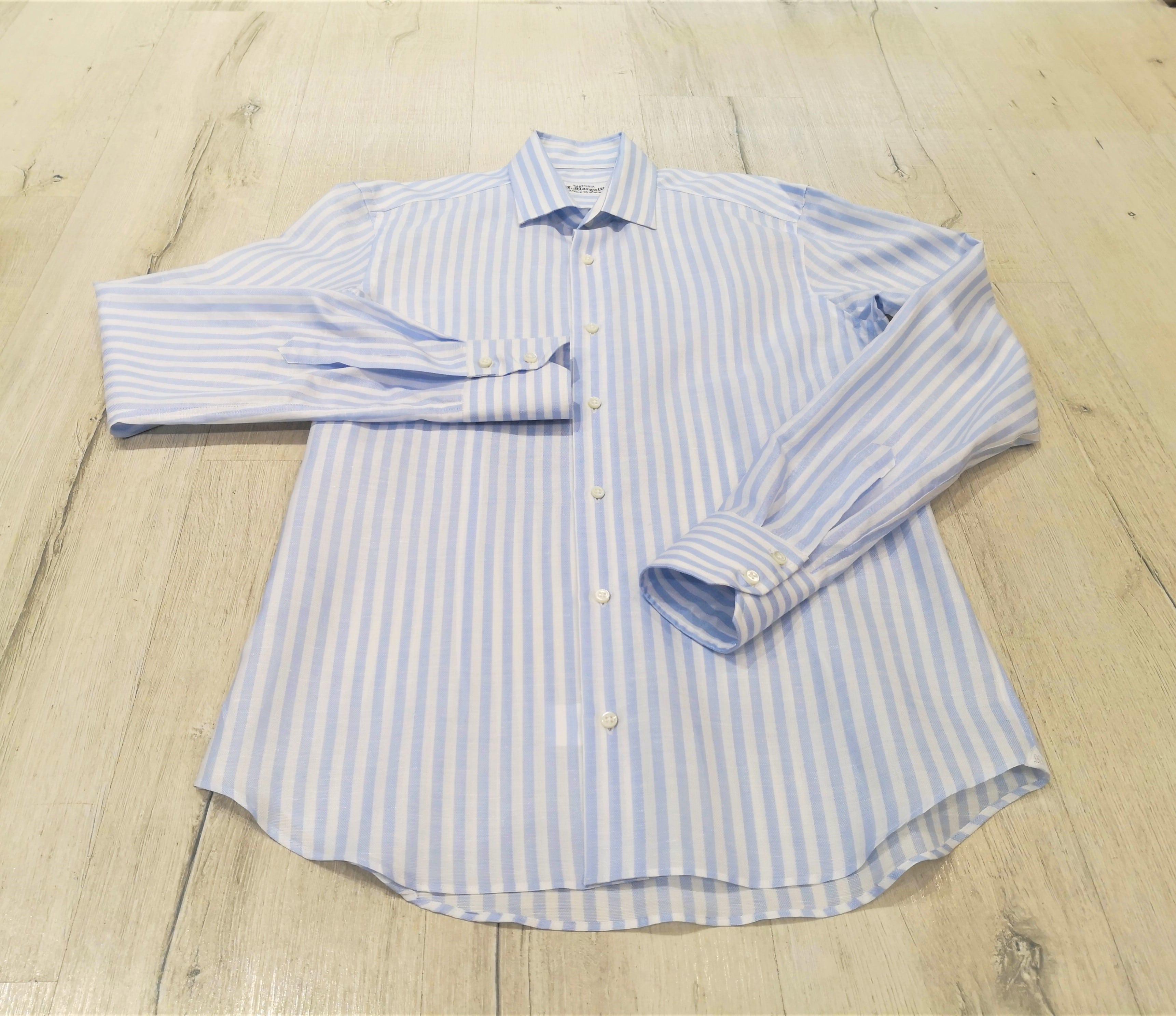 camicia-di-lino-a-righe