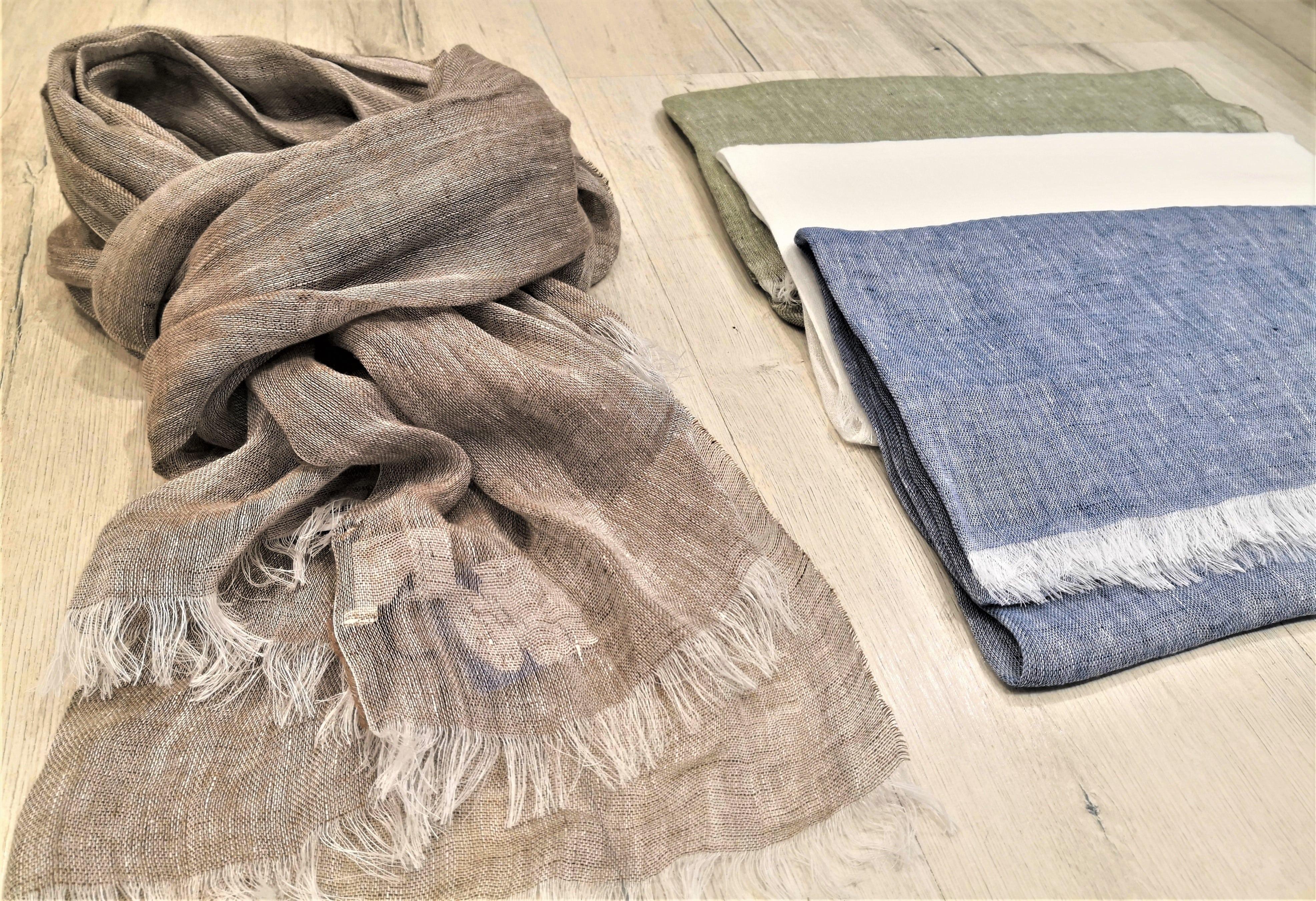 sciarpe di lino