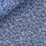 fantasia a fiori blu