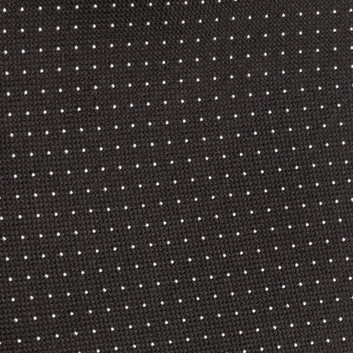 Cravatta artigianale sartoria fatta a mano scura